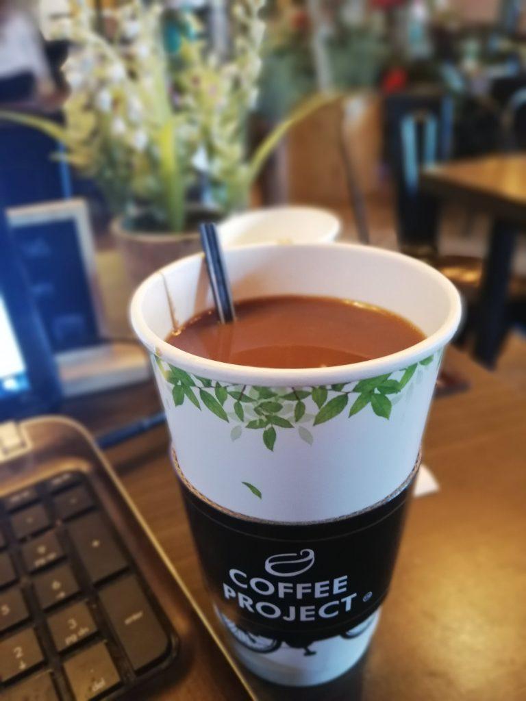 Cafe Americano in Coffee Project Iloilo