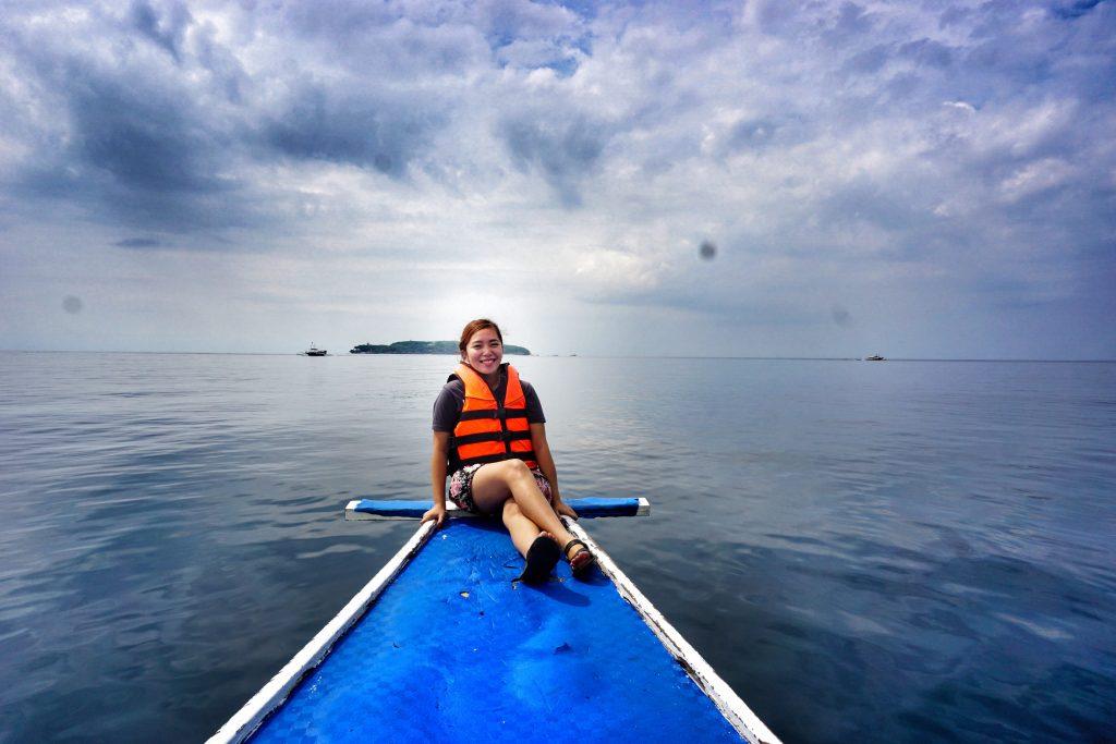 Sumilon Island in the Background