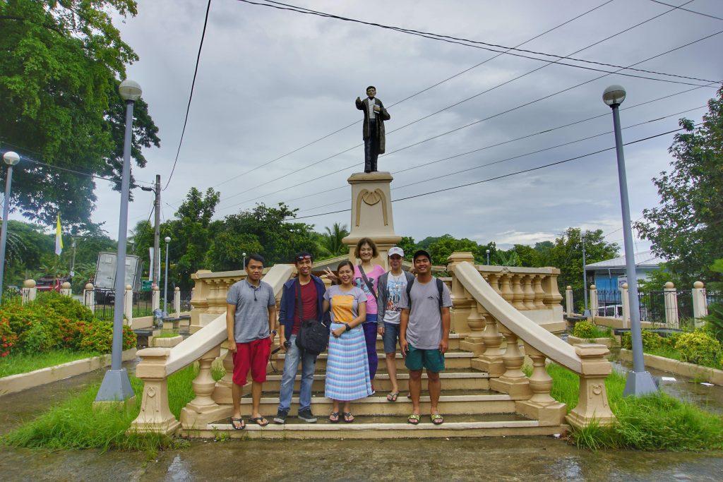 Smallest Plaza in Guimaras Island