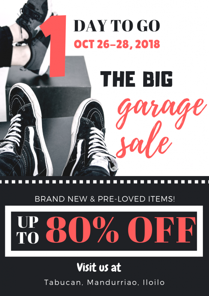 Garage Sale and Minimalism