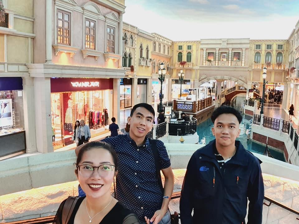 inside the Venetian Macao