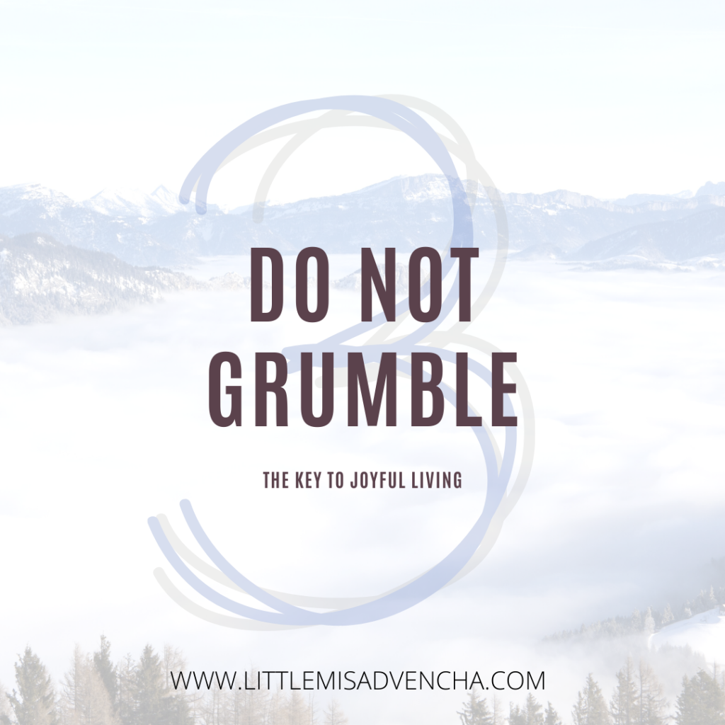 do not grumble littlemisadvencha