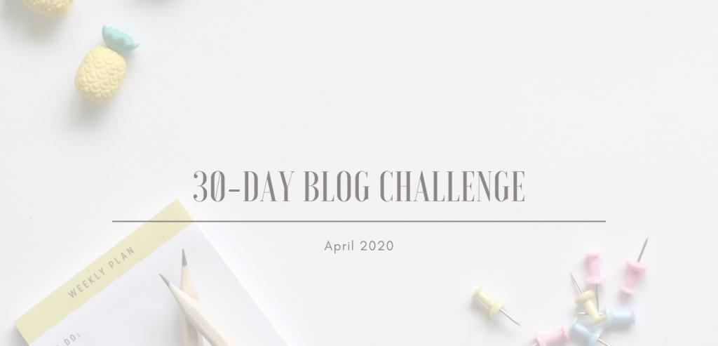 30-day blog challenge